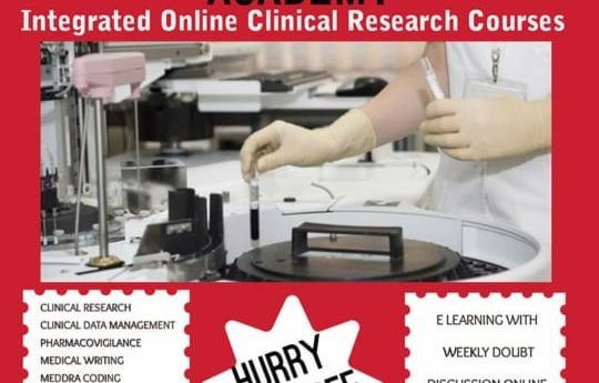 Clinical research online course, clinical research course, clinical data management course online, medical writing online course, pharmacovigilance online course